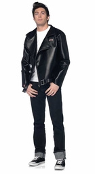 Faux Leather T-Birds Licensed Grease Jacket for Men