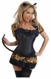 Corset French Kitty Costume