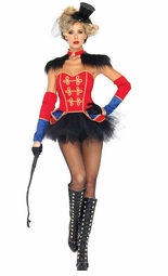Deluxe 4-Piece Ring Mistress Costume