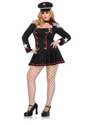 Plus Size Major Mayhem Costume