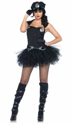 3-Piece Handcuff Honey Costume