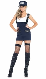 2-Piece Arresting Officer Costume