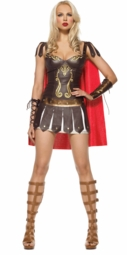 Roman Warrior Princess Costume