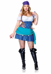 Plus Size 2-Piece Gypsy Princess Costume
