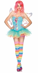 3-Piece Rainbow Fairy Costume