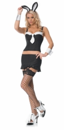 Pinstripe Bunny Costumes