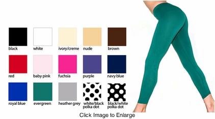 Cotton Knit Leggings from American Apparel