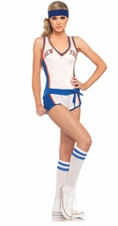 2 Piece NY Knicks Romper NBA Jersey Sexy Costume