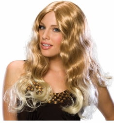 Long Starlet Blonde Wig