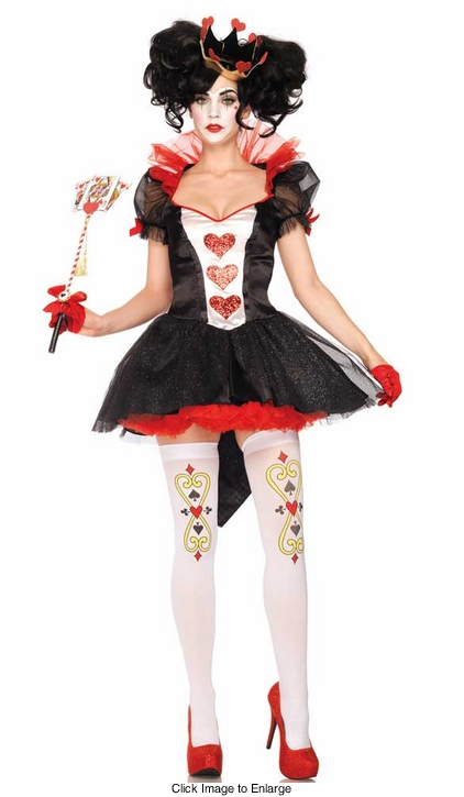 2-Piece Royal Queen Costume