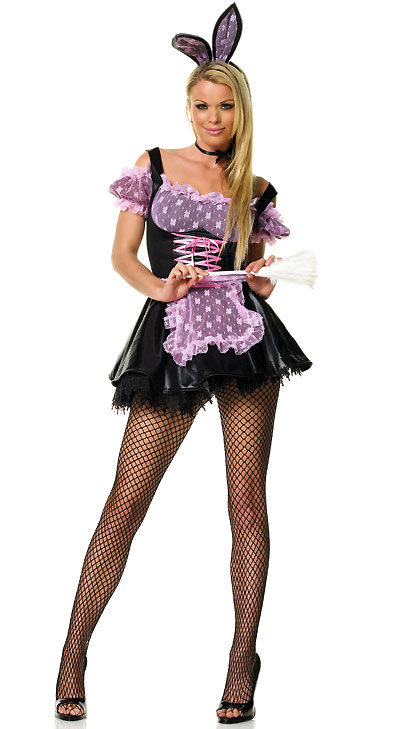 Adorable Bunny / French Maid Costume