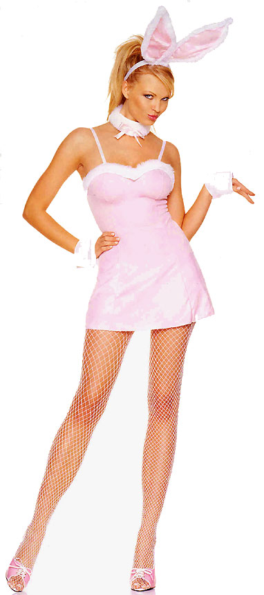 Playful Bunny Costume Dress