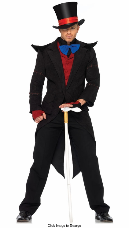 Mad Hatter from Alice In Wonderland Costume for Men