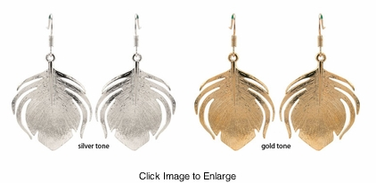 "1.75"" Feather Earrings"