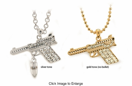 "1.75"" Gun Necklace"