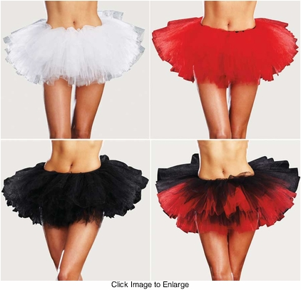 Multi Layer Tulle Tutu Petticoat