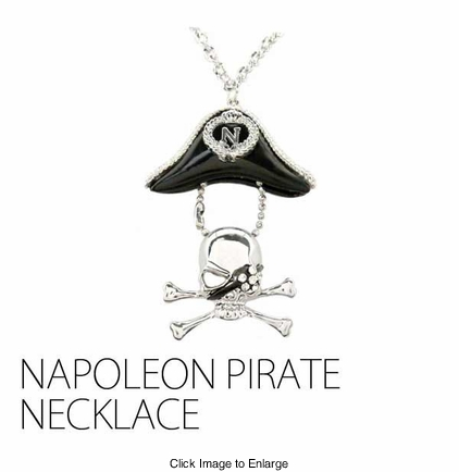 Napoleon Pirate Necklace
