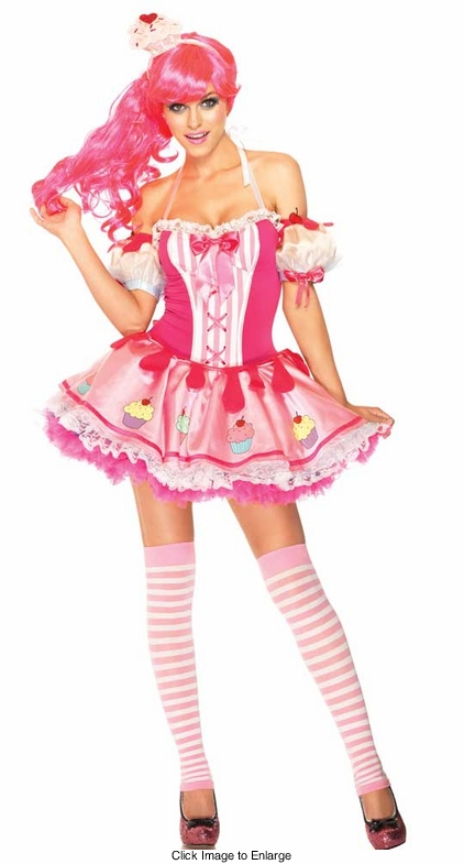 3-Piece Babycake Cupcake Katy Perry Inspired Costume