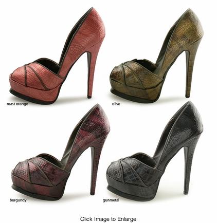 "SALE** 5.25"" Vintage Design Pumps ""Eli"" from Michael Antonio"