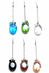 "3"" Crystal Dangle Earrings"