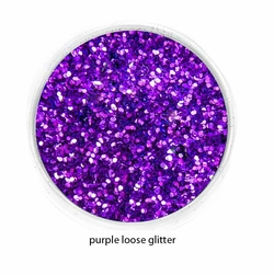 Purple Color of Luxe Glitter Powder for Eyeliner and Eye Makeup