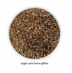 Sugar Cane Color of Luxe Glitter Powder for Eyeliner and Eye Makeup