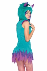 Fuzzy Frankie Moster Costume