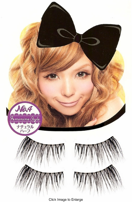 Original Dolly Wink Lashes from Japan in Feminine Style