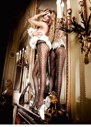 Couture Cookie Net Pantyhose