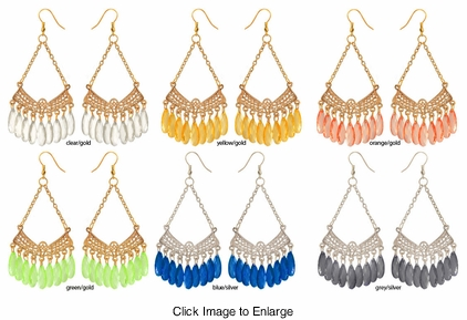 "4"" Chandelier Earrings"