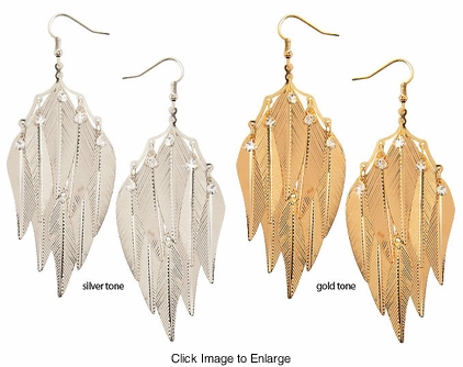 "4.5"" Dangle Earrings"