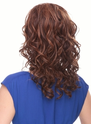 Heat Friendly Lace Front Wig with with Wavy Shoulder Length Hair