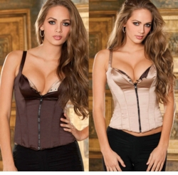 Brown Corsets