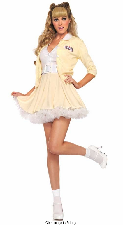 2-Piece Sandy from Grease Costume