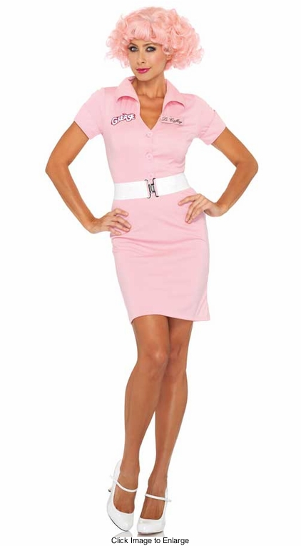 2-Piece Frenchie Beauty School Dropout Grease Costume