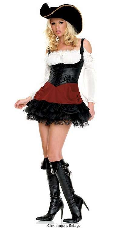 Sexy Pirate First Mate Costumes