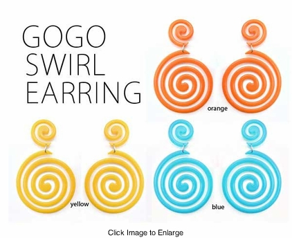 Groovy Swirl Earrings