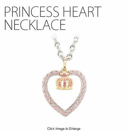 Princess Heart Necklace