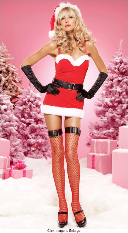 Sultry Miss Santa Dress