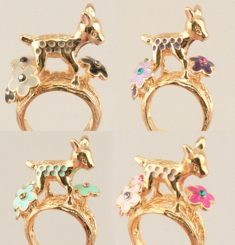 Bambi Baby Deer Ring