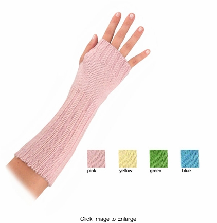 Pastel Wool Knit Arm Warmers