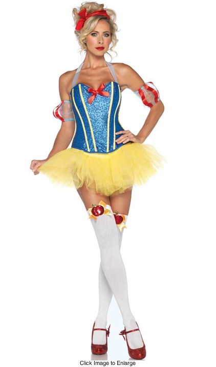 Sultry Sequin Snow White Costumes