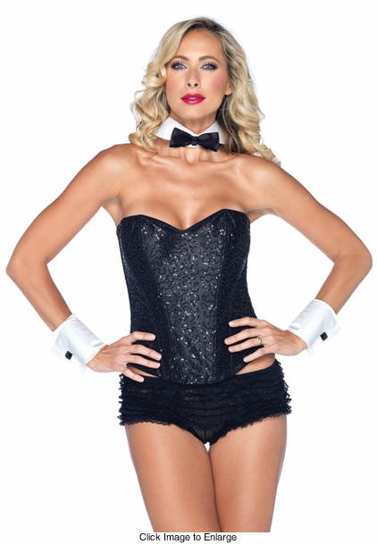 Costumes-2-Piece Tuxedo Kit with Collar and Cuffs