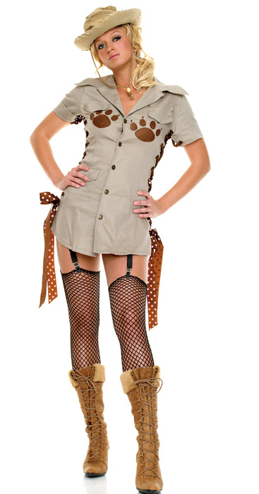 Safari Guide Girl Costume