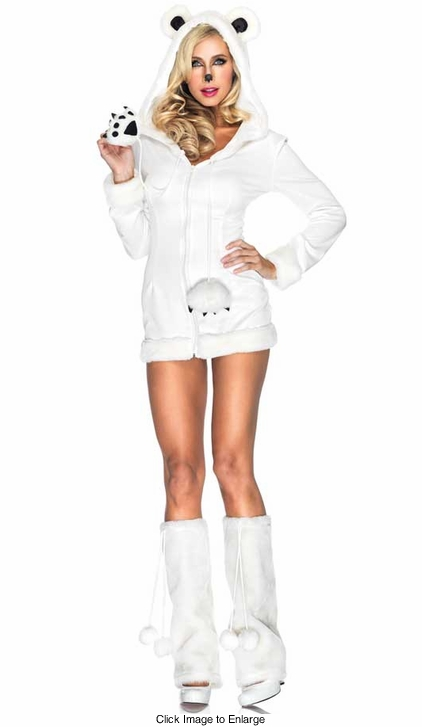 Snowy Polar Bear Costume