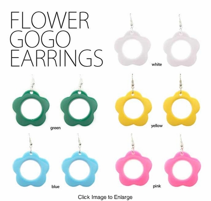 Flower Gogo Earrings