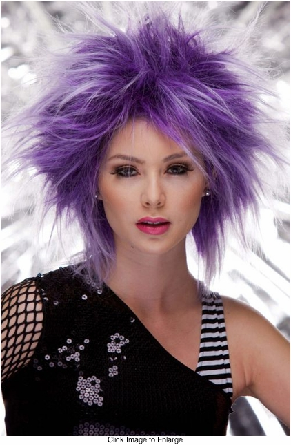 Punky Wig in Purple Haze
