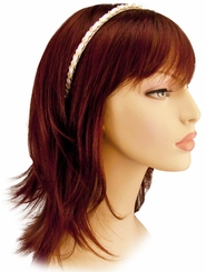 Chain and Patent Leather Headband