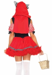 Red Riding Wolf Costume