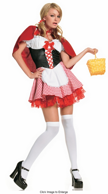 Lil' Red Riding Hood Costumes From Leg Avenue